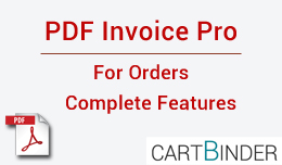 PDF Invoice Pro For Orders : Multiple Features