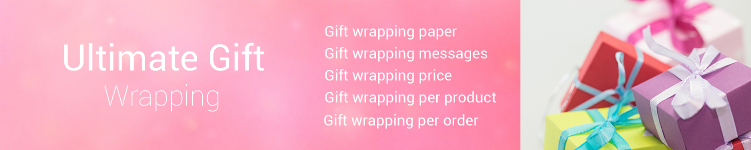 Ultimate Gift Wrapping : Per Product & Complete Order