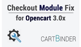 Free Checkout Module FIx For Opencart 3.0.x