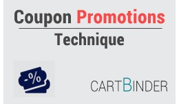 Coupon promotions technique