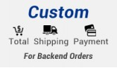 Add Customized total shipping and payment from admin side order