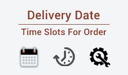 Delivery dates / time slots selection for orders : Multi control