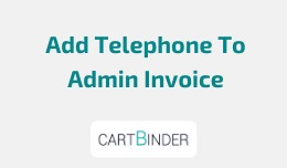 Display Customer Telephone Number In Admin Invoice