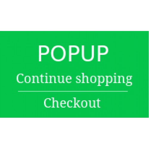 Popup on add To cart click for easy navigation   Free opencart