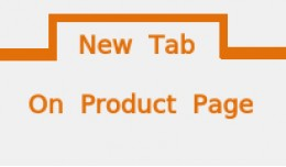 New tab on product pages: Add customized content
