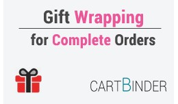Gift Wrap Complete Order- Choose Gift Papers, Amount, Messages