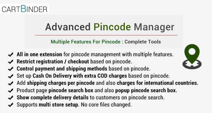 Advanced Postcode Manager : Best Postcode Management Tool