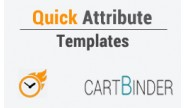 Quick Attribute Templates: Quickly Apply On Products