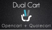 Dual Cart - Opencart + Quotation