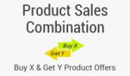Product Combination Offers : Buy X & Get Y